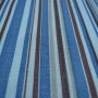 Blue Striped Curtain Fabric