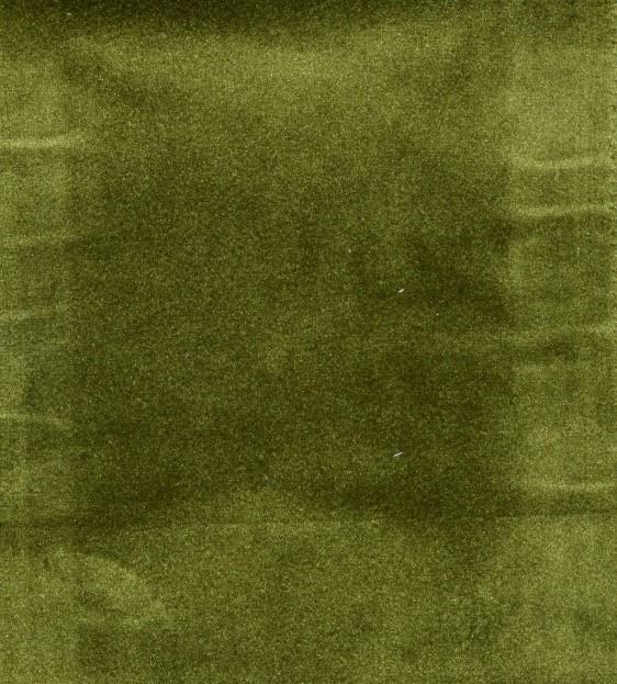 Plush green velvet curtain fabric curtains fabx for Velvet material for curtains