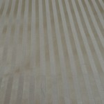 Beige Striped curtain fabric