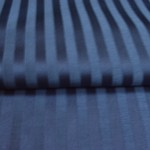 Midnight Blue Stripes curtain fabric