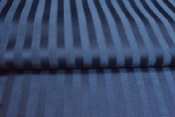 Strand   Midnight Blue Stripes curtain fabric   Curtains & Fabx