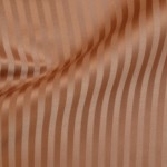 Copper striped curtain fabric