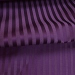 Striped purple curtain fabric