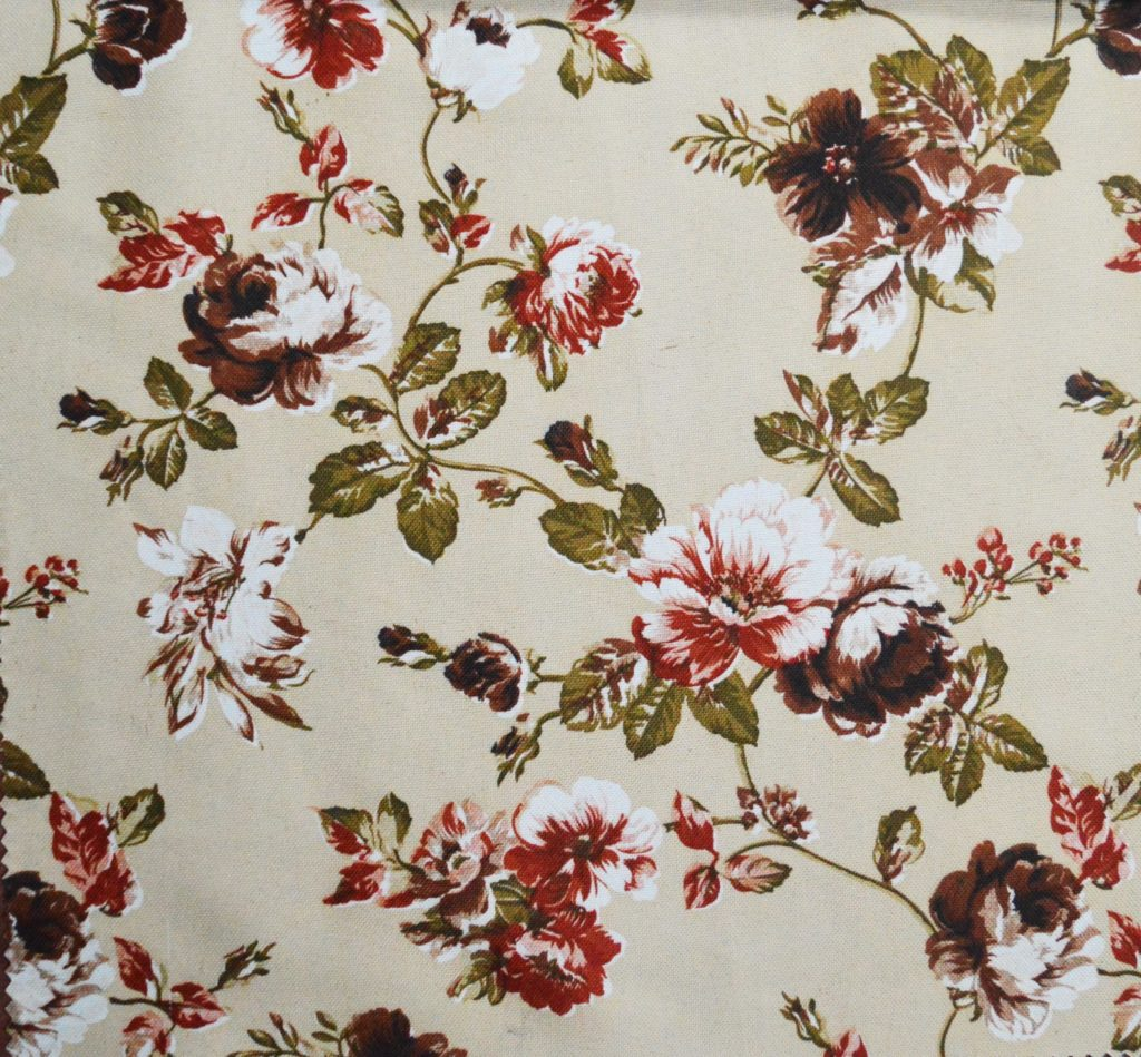 Go For Oversized Florals: Floral Print Curtain Fabric