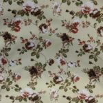 floral print curtain fabric