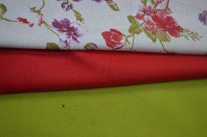 Plain Green curtain fabric