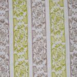 Floral furnishing fabric