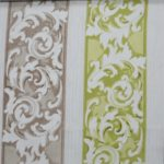 Floral furnishing fabric