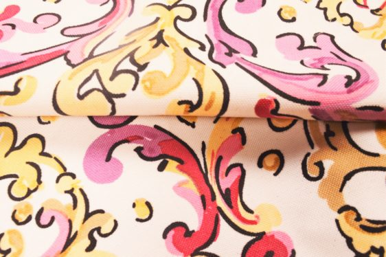 Watercolour print Curtain Fabric