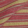 Gold and Pink stripes curtain Fabric