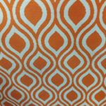 art deco curtain material