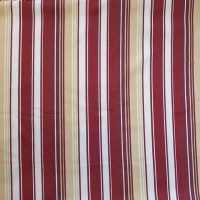 Nova Purple Stripes Curtain Fabric