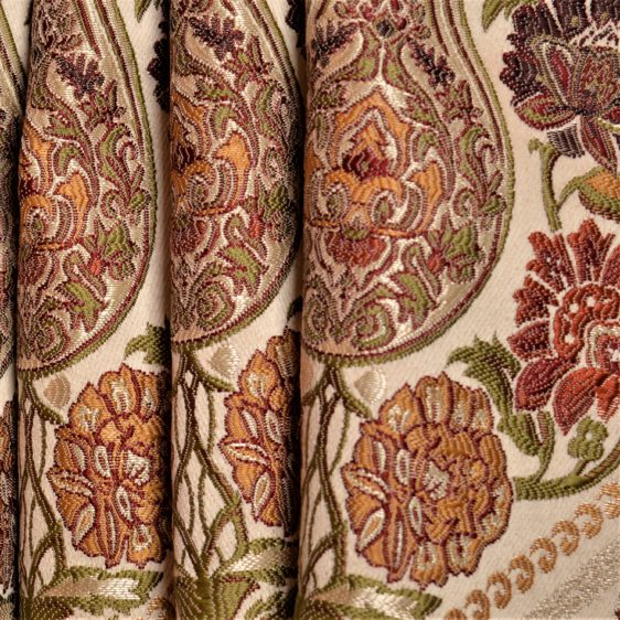 Art Nouveau curtain fabric