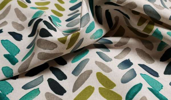 Water Colour Print Fabric