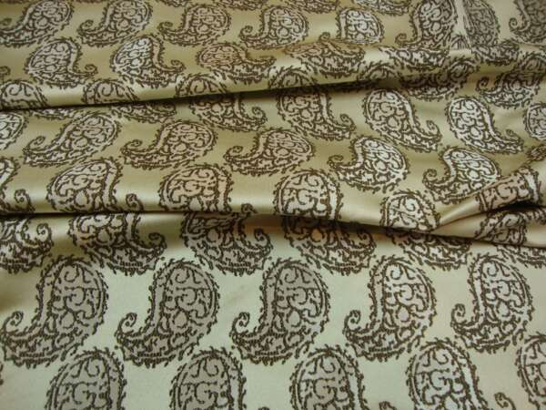 Paisley Curtain Fabric